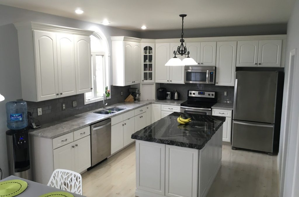 A New Look with Granite Countertops